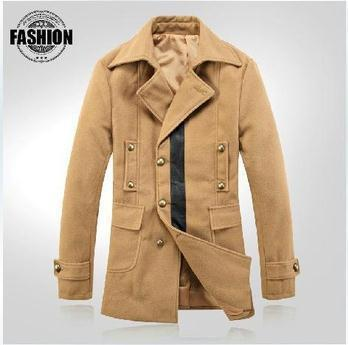 Men's Double Breasted Lapel Jacket In 6 Colors - TrendSettingFashions
