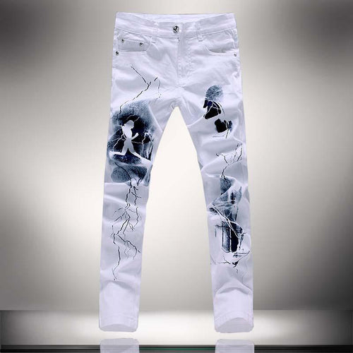 Men's Fashion Unique Lighting Jeans - TrendSettingFashions