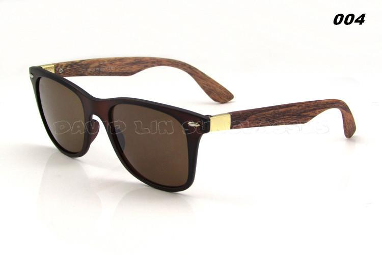 Men's Wooden Style Sunglasses In 6 Colors! - TrendSettingFashions   - 7
