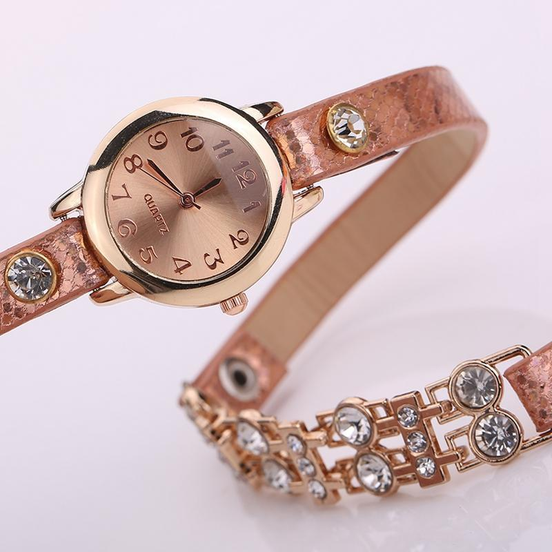 Women's Bracelet Rivet Watch In 9 colors! - TrendSettingFashions   - 7