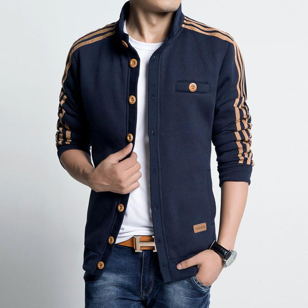 Fashion Spring Leisure Zip Up Jacket In 2 Colors - TrendSettingFashions
