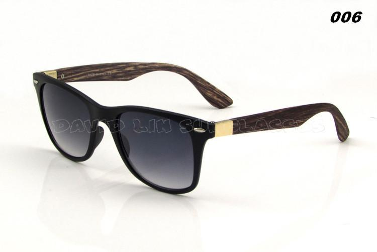 Men's Wooden Style Sunglasses In 6 Colors! - TrendSettingFashions   - 4