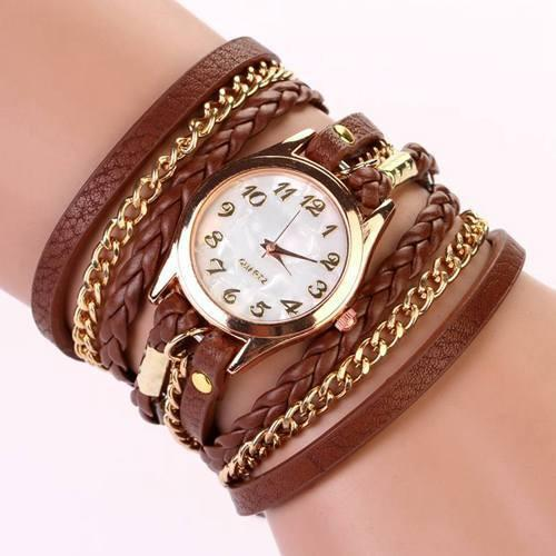 Hot Vintage Women's Bracelet Watch With 11 Colors! - TrendSettingFashions   - 10