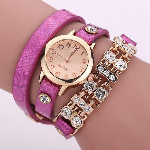 Women's Bracelet Rivet Watch In 9 colors! - TrendSettingFashions   - 4
