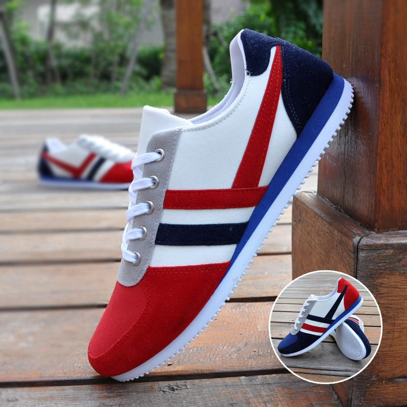 s striped canvas shoe in 2 colors trendsettingfashions