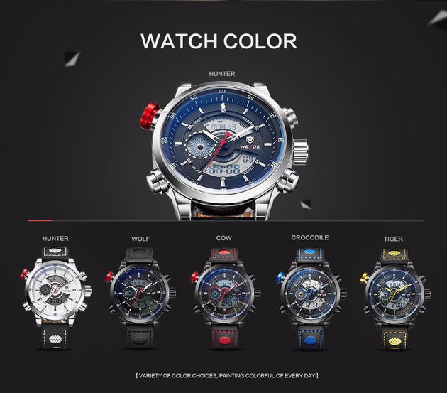 Men's Digital Military Style Sport Watch - TrendSettingFashions