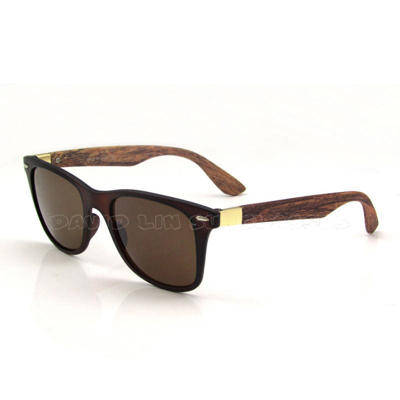 Men's Wooden Style Sunglasses In 6 Colors! - TrendSettingFashions   - 1