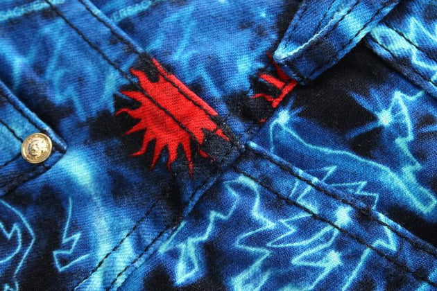 Blue Starry Fashion Jeans - TrendSettingFashions