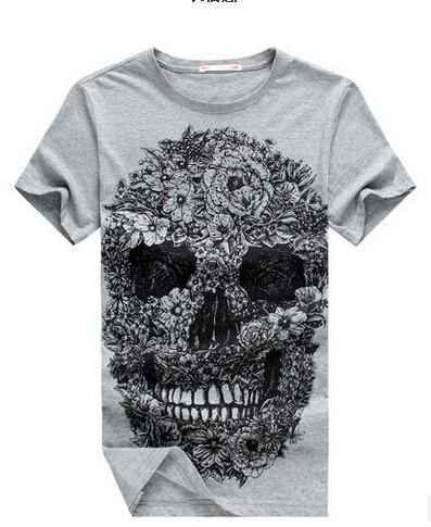 Men's Skull Print T-Shirt In a Few Styles - TrendSettingFashions