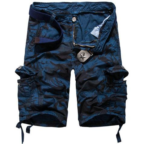 Men's Fashion Print Cargo Shorts - TrendSettingFashions