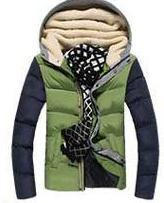 Men's Patchwork Thick Hooded Jacket In 4 Colors - TrendSettingFashions   - 8