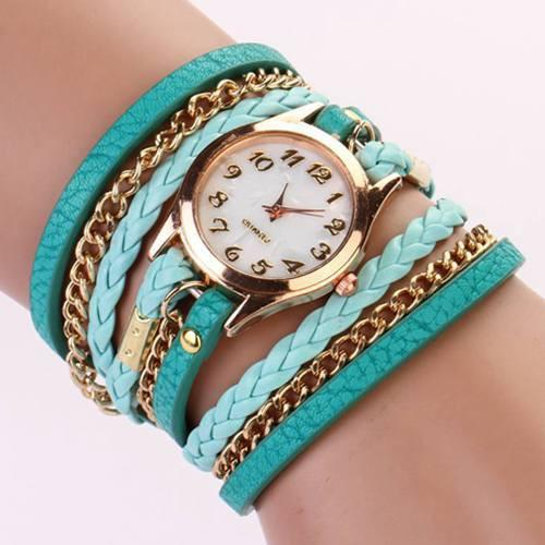 Hot Vintage Women's Bracelet Watch With 11 Colors! - TrendSettingFashions   - 2