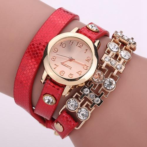 Women's Bracelet Rivet Watch In 9 colors! - TrendSettingFashions   - 3