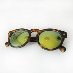 Vintage Round Sunglasses With 10 Color Options - TrendSettingFashions   - 9