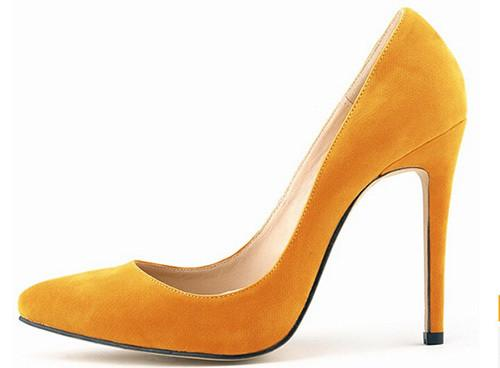 Vintage Flock Pointed Toe Design Platform Shoes In 10 Designs! - TrendSettingFashions   - 9