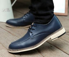 Men's Winter Padded Dress Shoes 4 Color Options - TrendSettingFashions   - 5