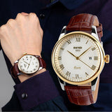 Luxury Genuine Leather Band Watch - TrendSettingFashions