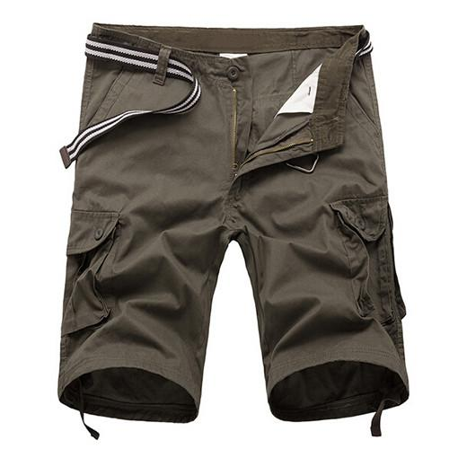 Men's Summer Army Cargo Shorts - TrendSettingFashions   - 3