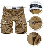 Men's Casual Cargo Shorts - TrendSettingFashions