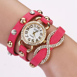 Women's Fashion Cross Love Bow Knot Pattern Watch With 9 Colors! - TrendSettingFashions
