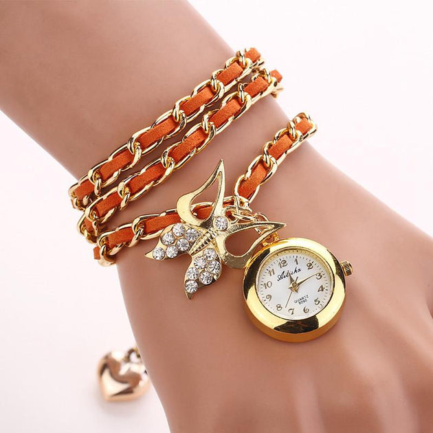 Women's Love Bird Watch In 8 Colors! - TrendSettingFashions