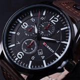 Men's Slick And Sharp Wrist Clock - TrendSettingFashions