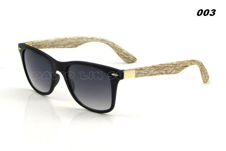 Men's Wooden Style Sunglasses In 6 Colors! - TrendSettingFashions   - 5