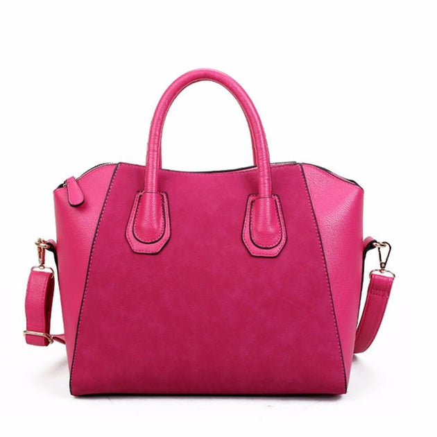 Women's Large Crossbody Tote In 3 Color Options - TrendSettingFashions