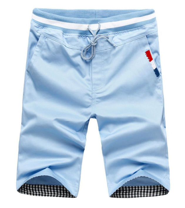 Men's Beach Shorts Drawstring - TrendSettingFashions