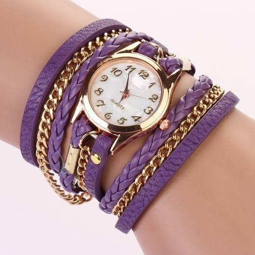 Hot Vintage Women's Bracelet Watch With 11 Colors! - TrendSettingFashions   - 6