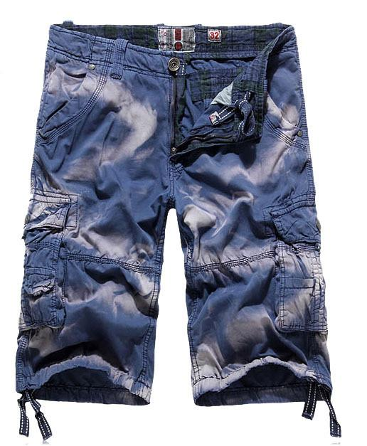 Distressed Fashion Beach Wear Cargo Shorts - TrendSettingFashions