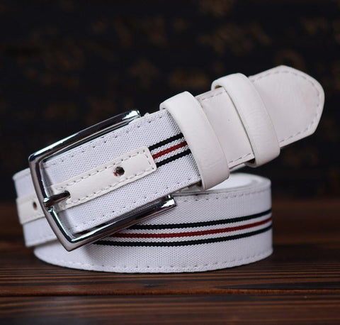 Men's Fashion Stripe Waistbelt