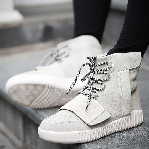 Luxury High Top Trainers In 4 colors - TrendSettingFashions