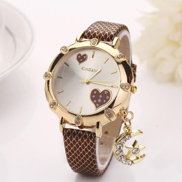 Women's Love You To The Moon And Back Fashion Watch In 8 Colors - TrendSettingFashions