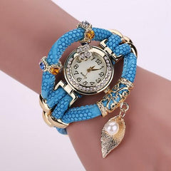 Women's Feather Wide Fashion Watch In 5 Colors! - TrendSettingFashions   - 6