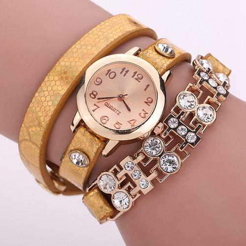 Women's Bracelet Rivet Watch In 9 colors! - TrendSettingFashions   - 5