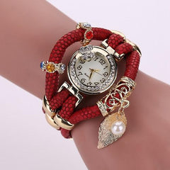 Women's Feather Wide Fashion Watch In 5 Colors! - TrendSettingFashions   - 5