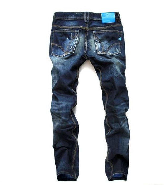 Men's Decoration Pocket Jeans - TrendSettingFashions