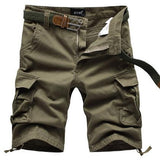 Multi Pocket Utility Style Shorts - TrendSettingFashions