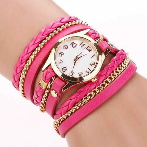 Hot Vintage Women's Bracelet Watch With 11 Colors! - TrendSettingFashions   - 13