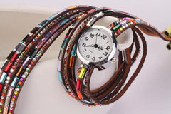 Women's Glass Jewel Watch With 9 Different Colors - TrendSettingFashions   - 7