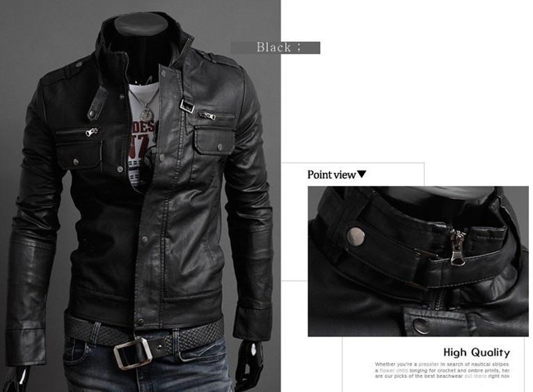 Men's Riders Leather Jacket In 3 Colors! - TrendSettingFashions   - 3