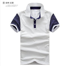 Men's Polka Dot Style Polo - TrendSettingFashions   - 2