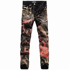 Men's Denim Fire Me Up Jeans - TrendSettingFashions   - 1