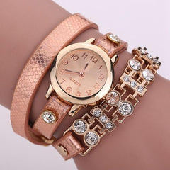 Women's Bracelet Rivet Watch In 9 colors! - TrendSettingFashions   - 1