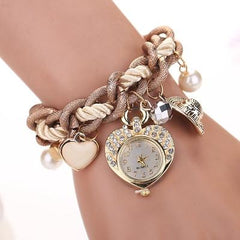 Women's Lovers Lane Heart Inspired Watch - TrendSettingFashions   - 2