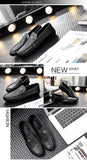 Genuine Leather Tassel Dress Shoes - TrendSettingFashions