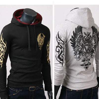 Men's Tribal Hoodie - TrendSettingFashions