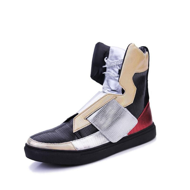 Fashion High Top Patchwork Hip Hop Shoes - TrendSettingFashions
