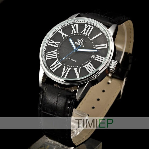 Men's Classic Roman Numeral Watch - TrendSettingFashions